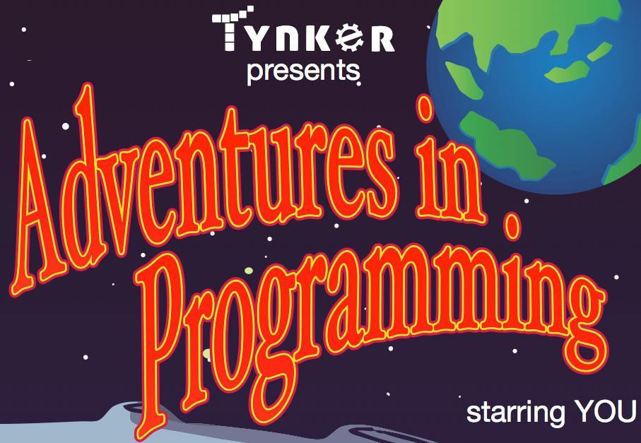 Tynker opening screenshot