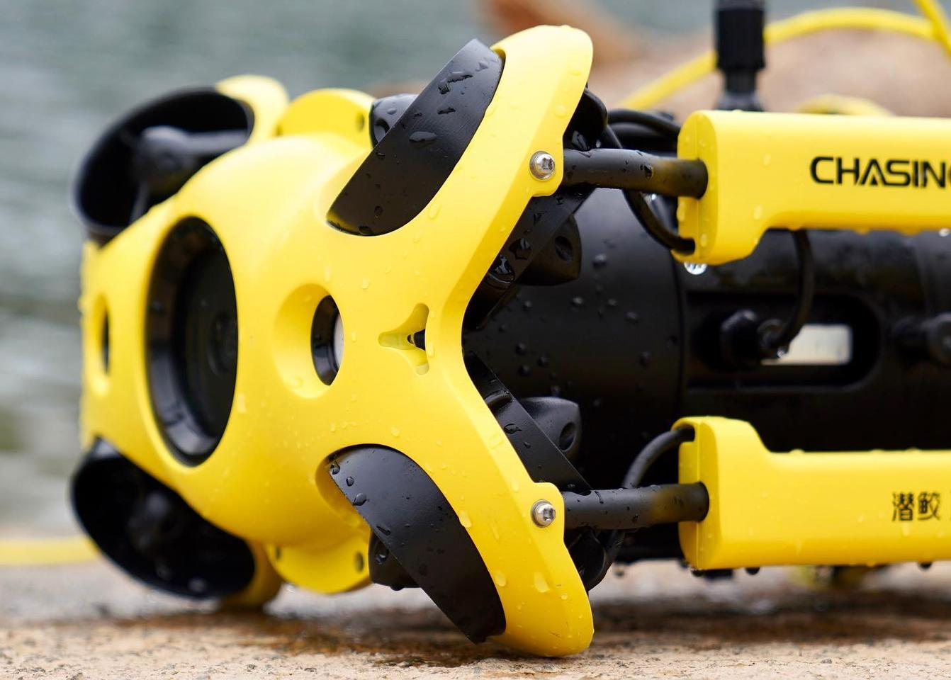 The Chasing M2 ROV can be operated in water temperatures ranging from -10 to 45 ºC (14 to 113 ºF)