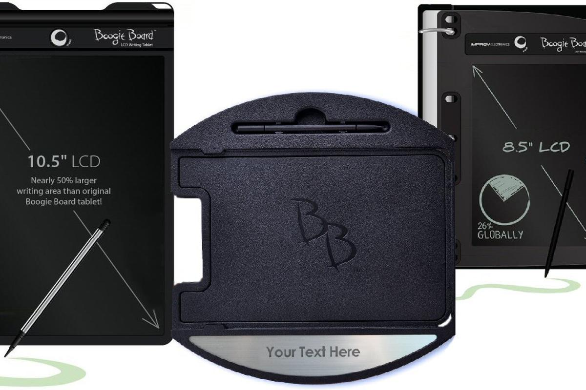 Improv Electronics has announced two new additions to the Boogie Board brand, together with a new accessory for the original
