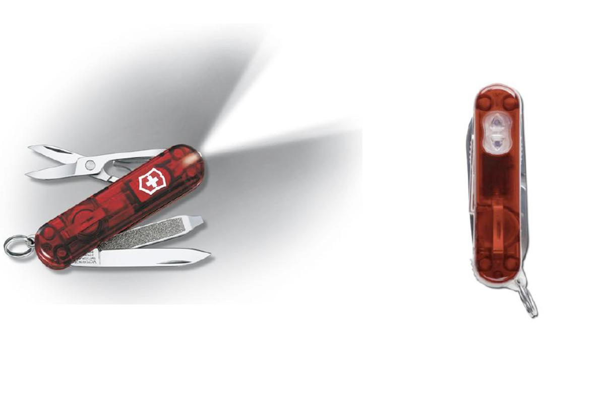 Victorinox Remote has all the features of a Swiss Army Knife and can open and close your garage door