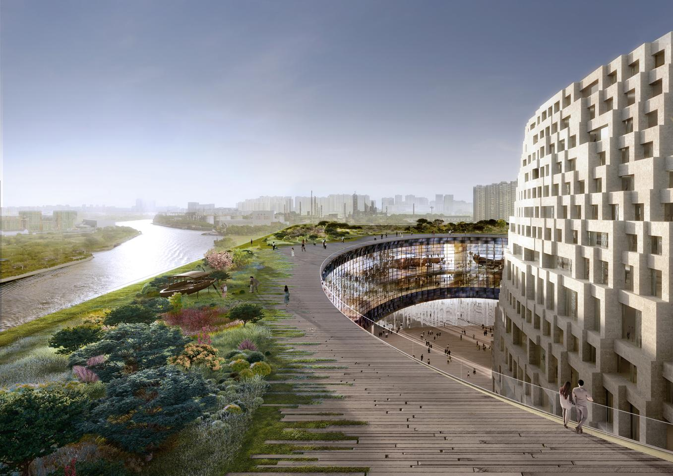 The Grand Canal Museum Complex will feature a large accessible rooftop