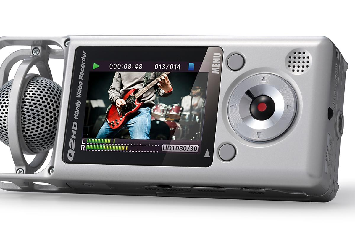 Zoom has detailed the new Q2HD handy video recorder with Mid-Side audio recording technology
