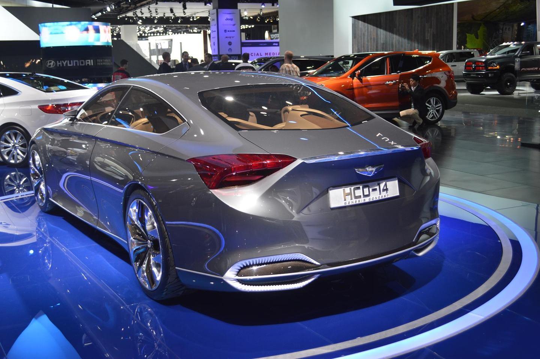 The Hyundai HDC-14 Genesis concept at the North American International Auto Show