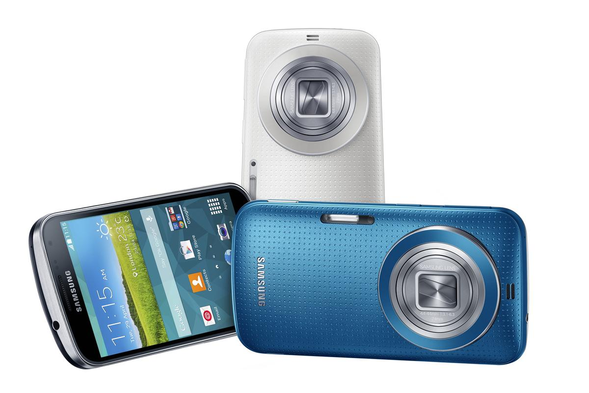 Samsung's Galaxy K zoom further blurs the line between smartphones and point and shoot cameras