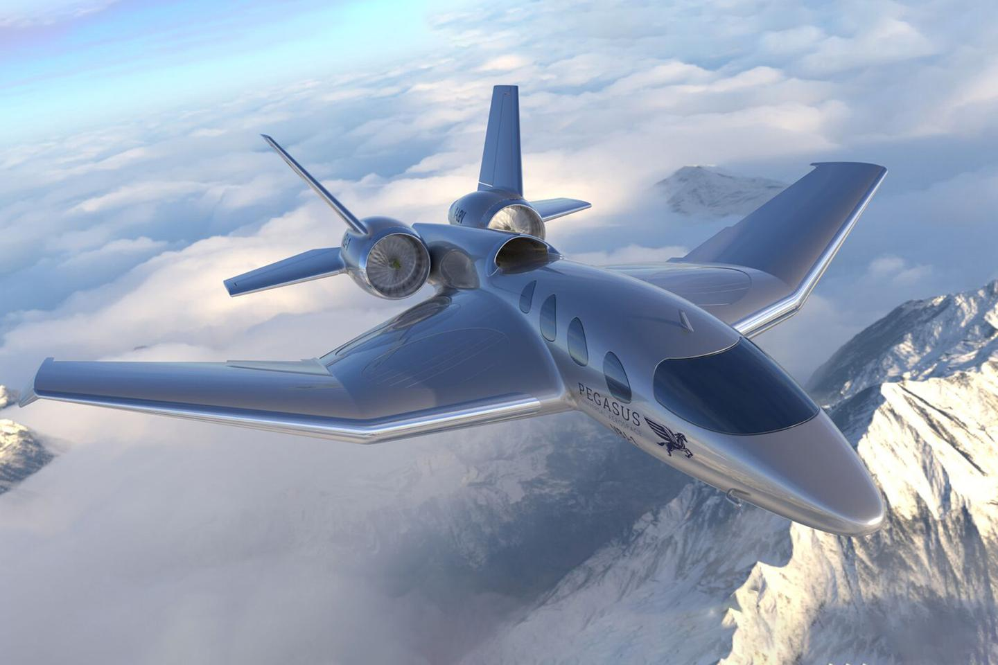 South Africa's Pegasus is planning to use electric VTOL in conjunction with turboshaft cruise engines in order to provide VTOL convenience with turboshaft range and speed