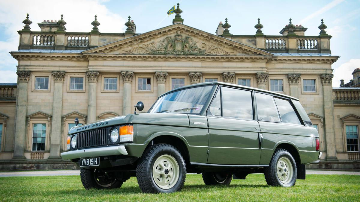 The first production Range Rover sold for £132,250 (US$213,000)