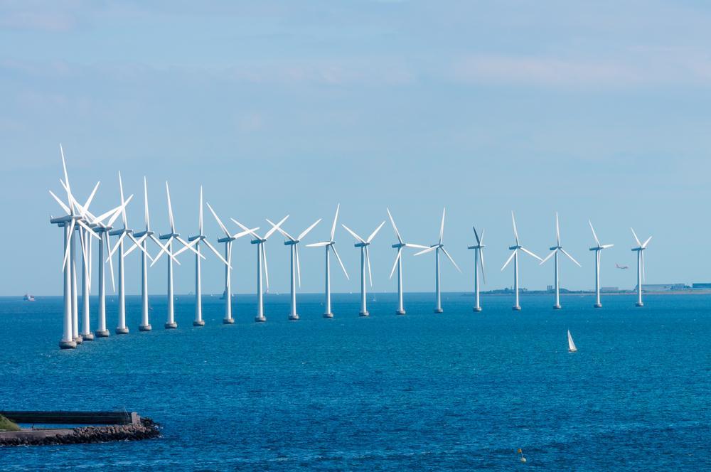 Offshore wind turbines near Copenhagen (Photo: Tony Moran/Shutterstock)