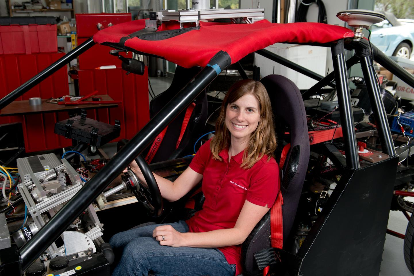 Lead author of the study, Holly Russell, a former graduate student in the Dynamic Design Lab