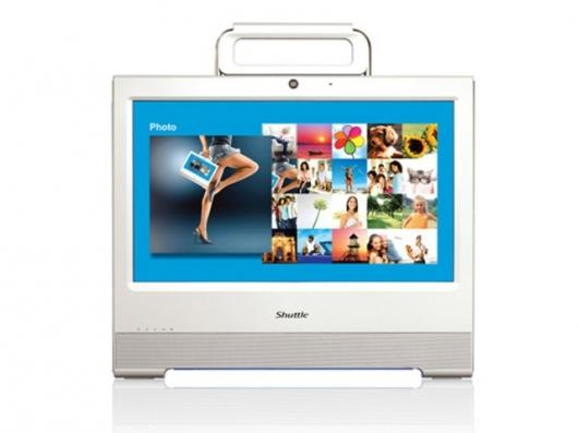The Shuttle X50 all-in-one PC