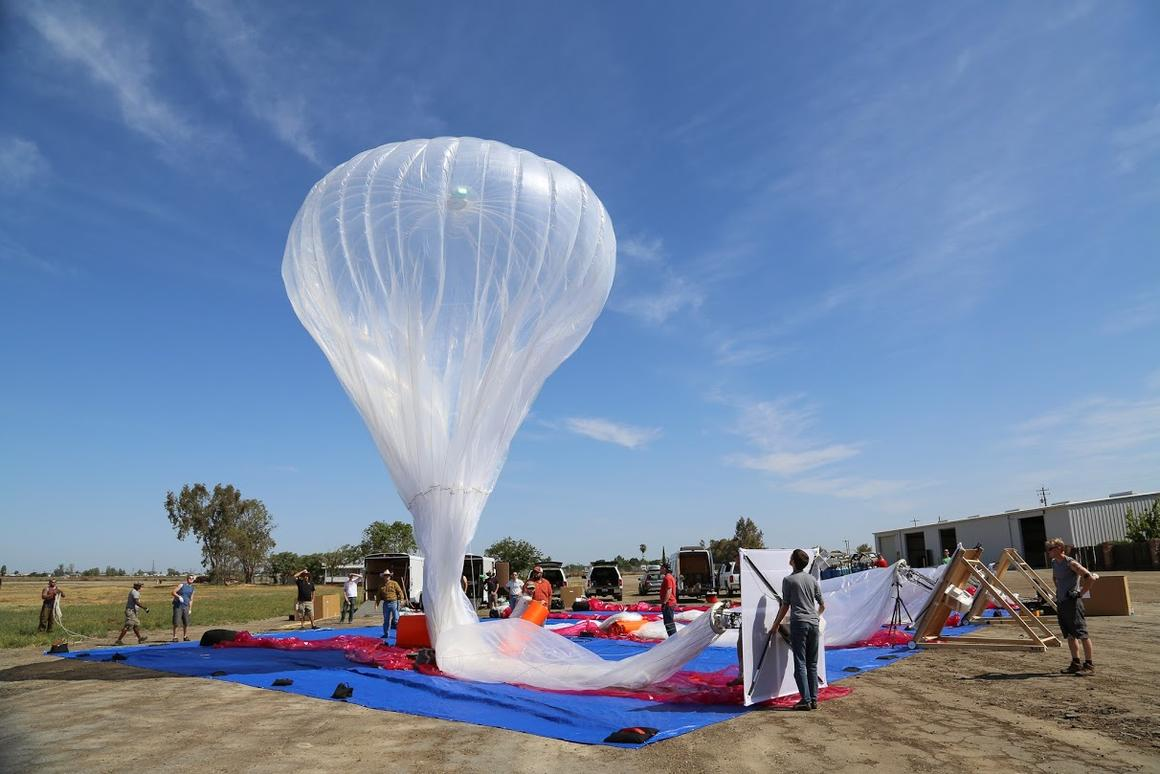 Project Loon balloons like this are set to bring universal internet access to all of Sri Lanka