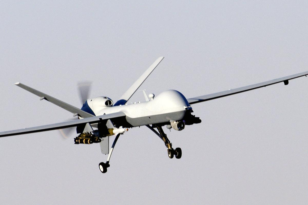 Australian researchers have designed a vision-based system to provide real-time guidance for UAVs, such as the MQ-9 Reaper pictured