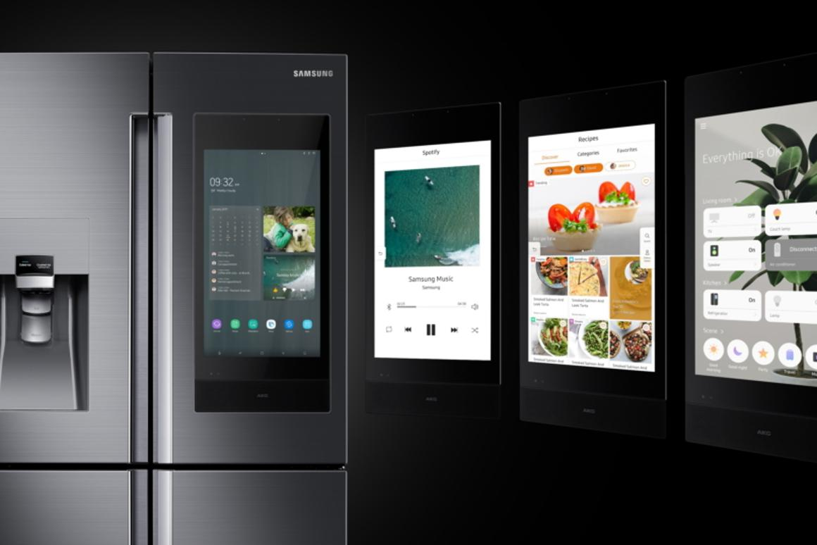 Samsung has updated the Family Hub fridge for 2019