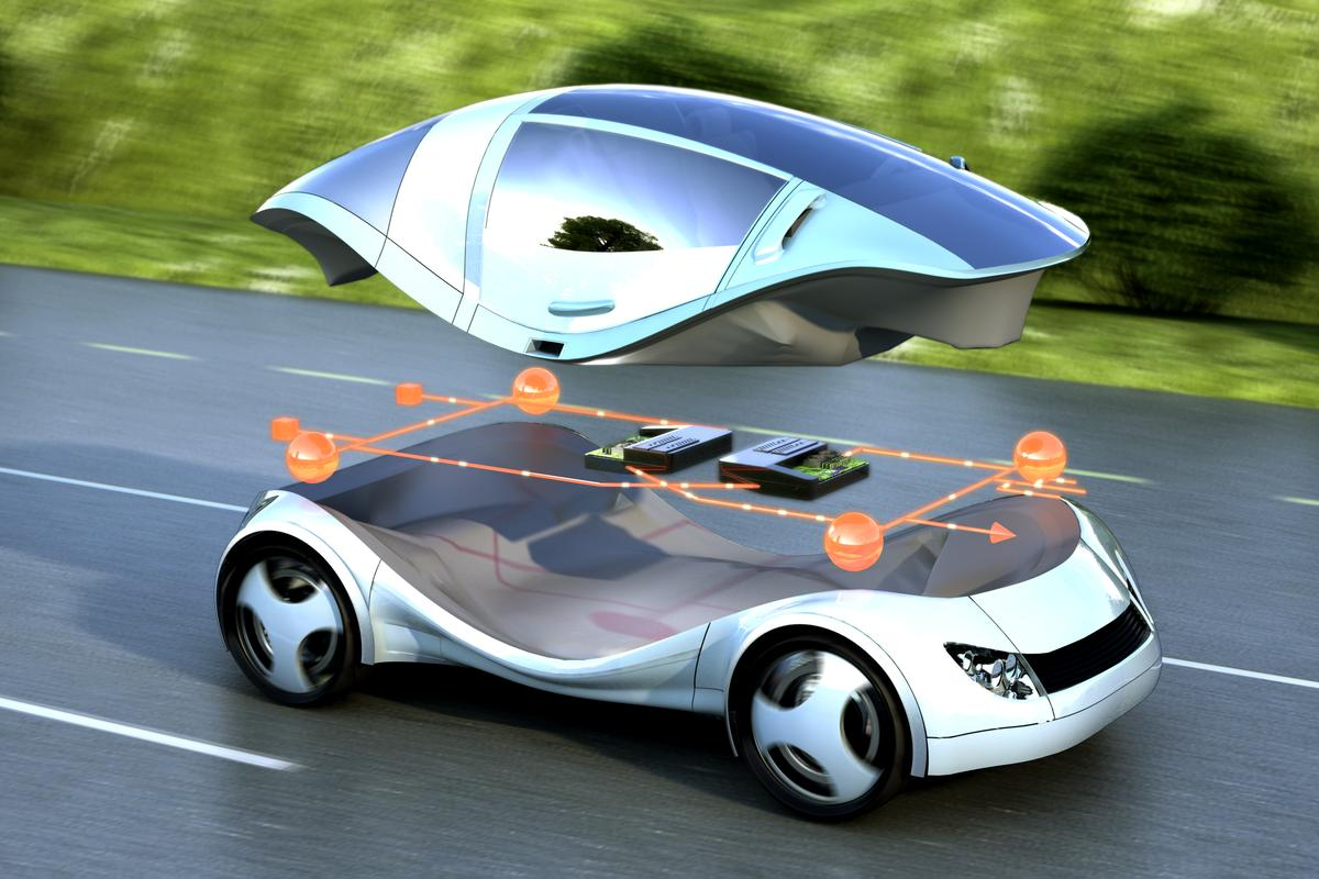 The Siemens RACE prototype will allow hardware components to be updated via a plug-and-play process (Image: Siemens)