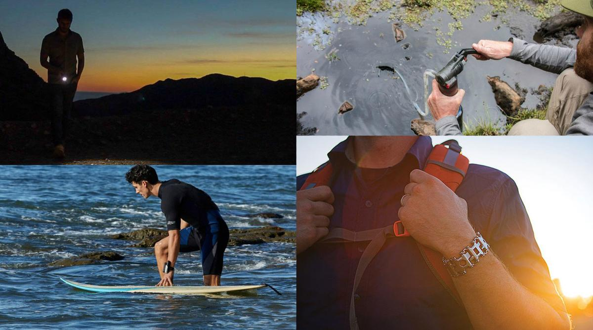 We look over some of the outdoor gadgets and wearables that caught our eye in 2015