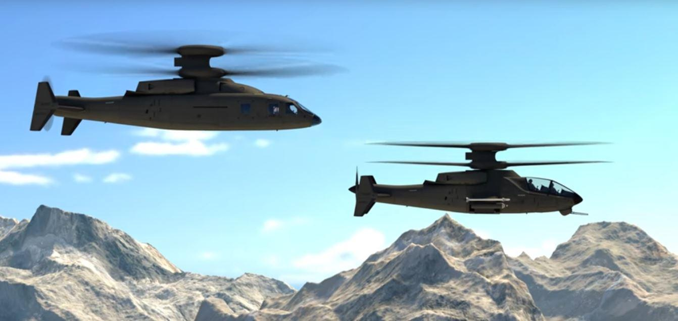 The Sikorsky-Boeing Future Vertical Lift comes in Assault and Attack variants