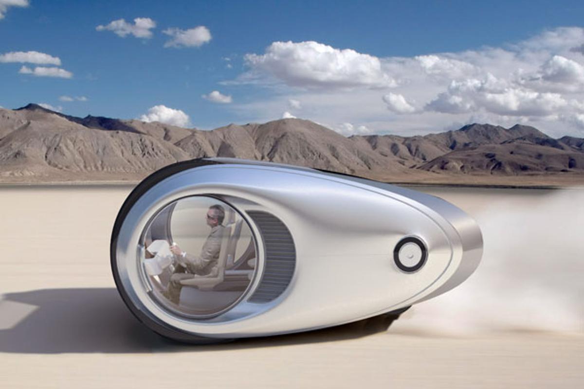 The Ecco Camper concept by NAU design