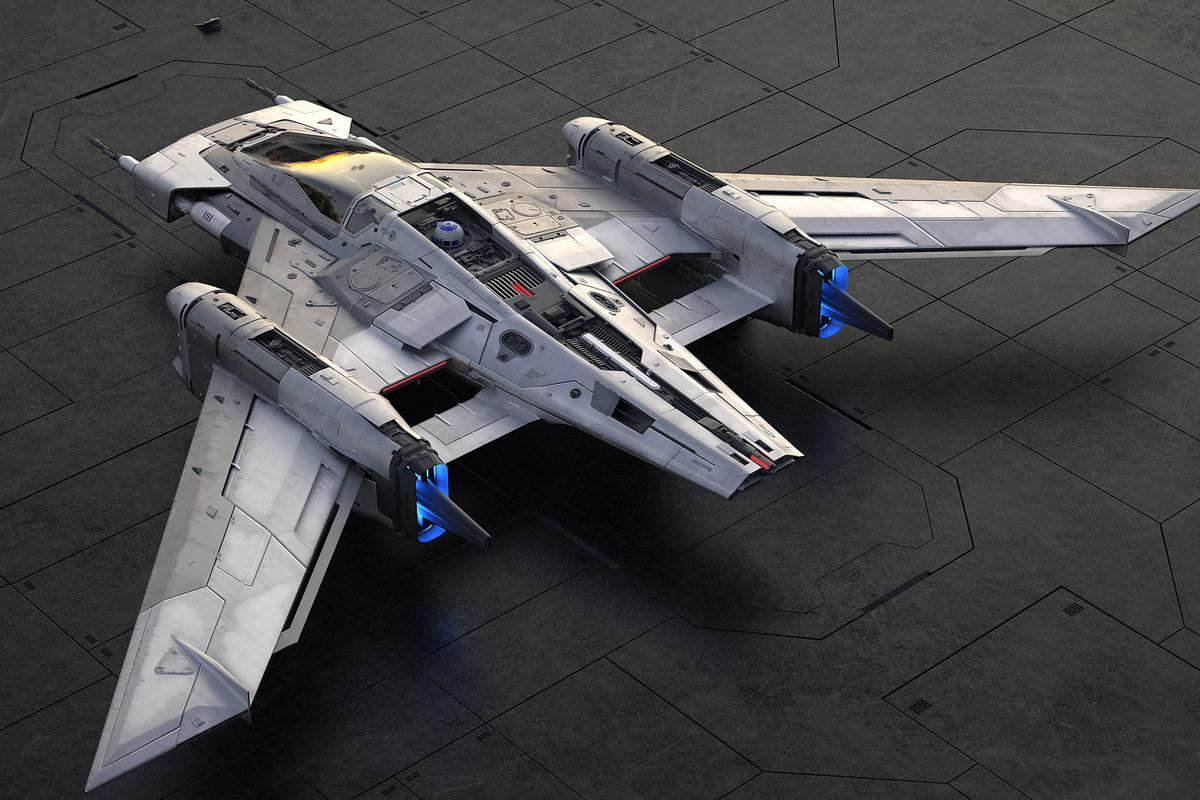 The Pegasus: another iconic Star Wars spaceship?
