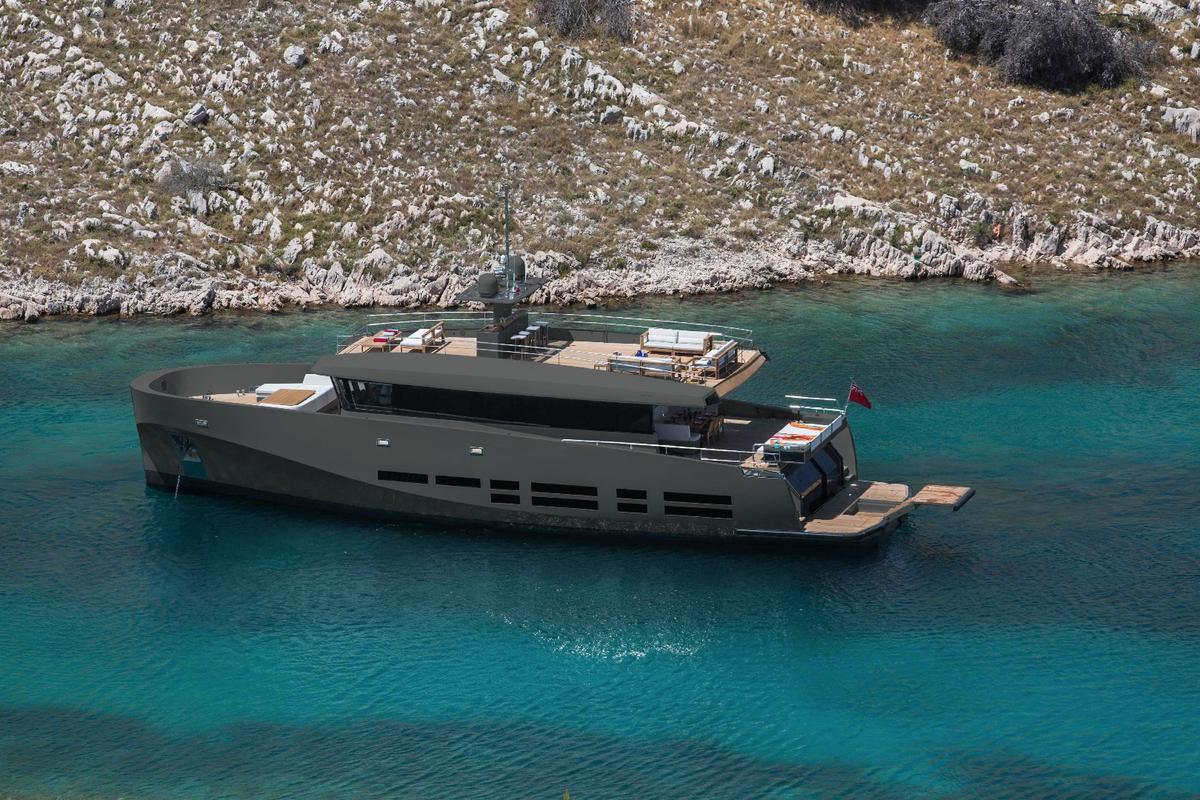 Wally has made its KokoNut comfortable and economical for long range cruising