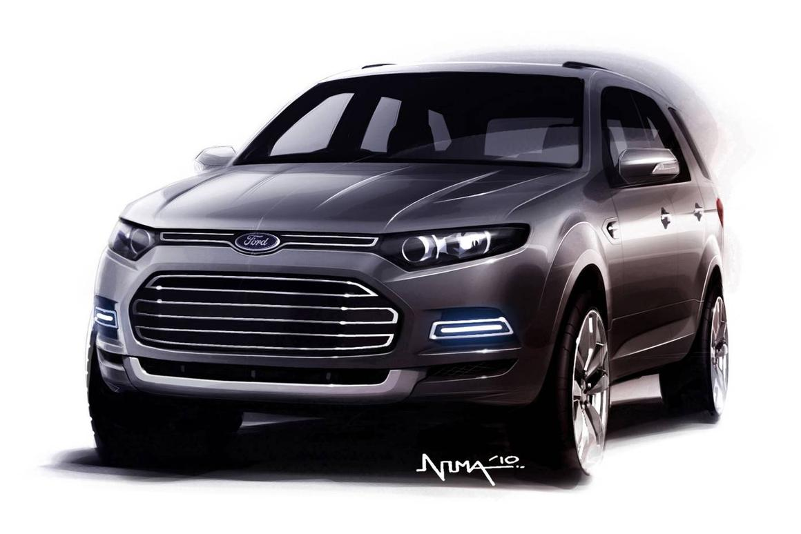 Ford Australia has released the first image of its new-look Territory SUV
