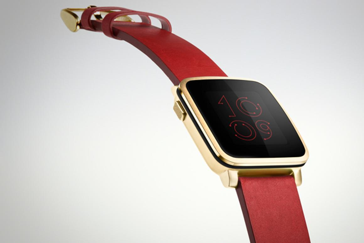 Backers of Pebble Time can now upgrade their pledges to a minimum of $250 to get Pebble Time Steel