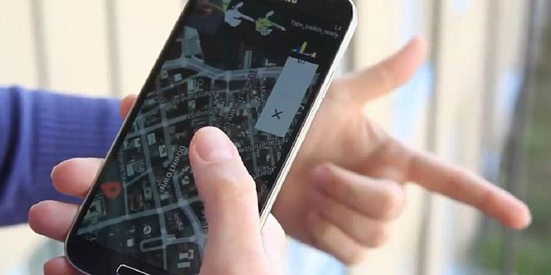 Researchers have developed an app that lets gesture controls be used on existing mobile devices (Photo: ETH Zurich)