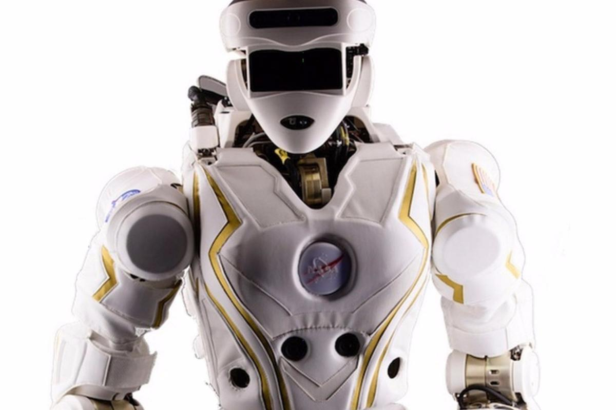 "The supercool R5 ""Valkyrie"" robot was originally designed for disaster relief"