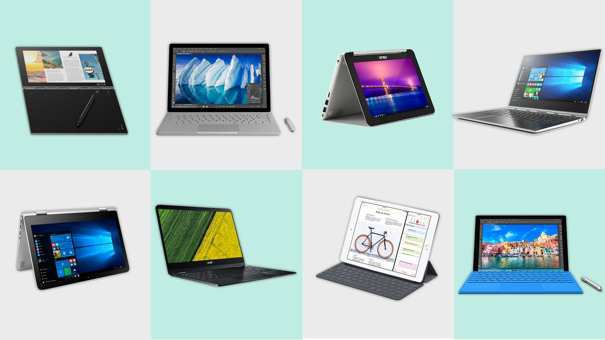 New Atlas compares leading 2-in-1 tablet/laptops in this end-of-year comparison guide