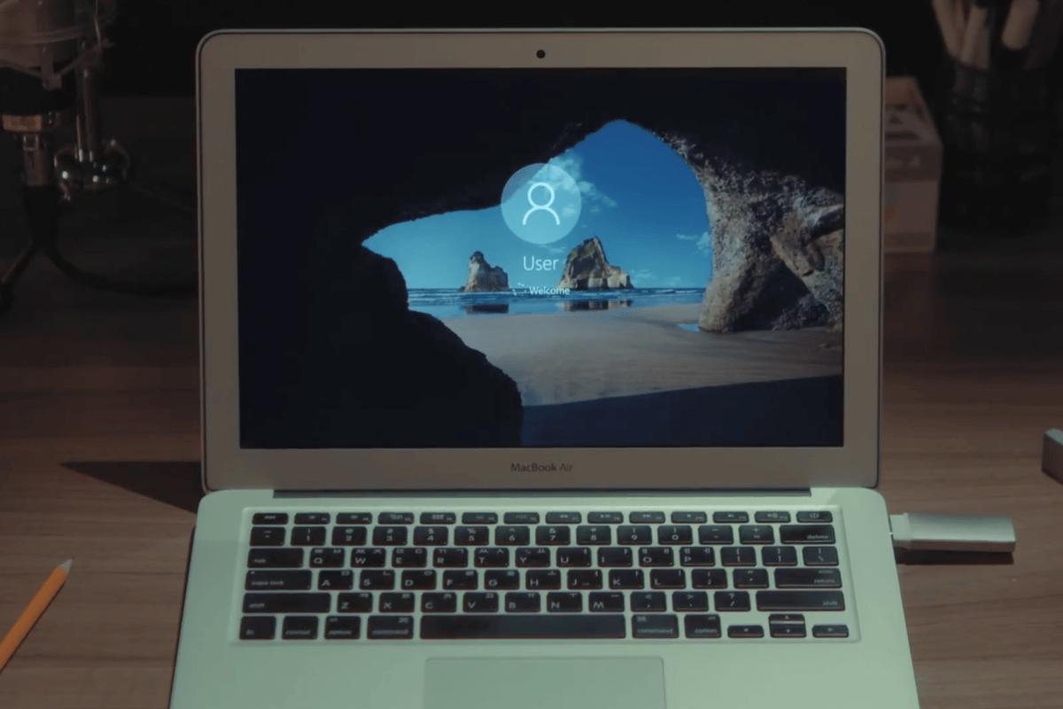 SuperSpeedBlazer boots Windows 10 on a Mac in around 10 seconds