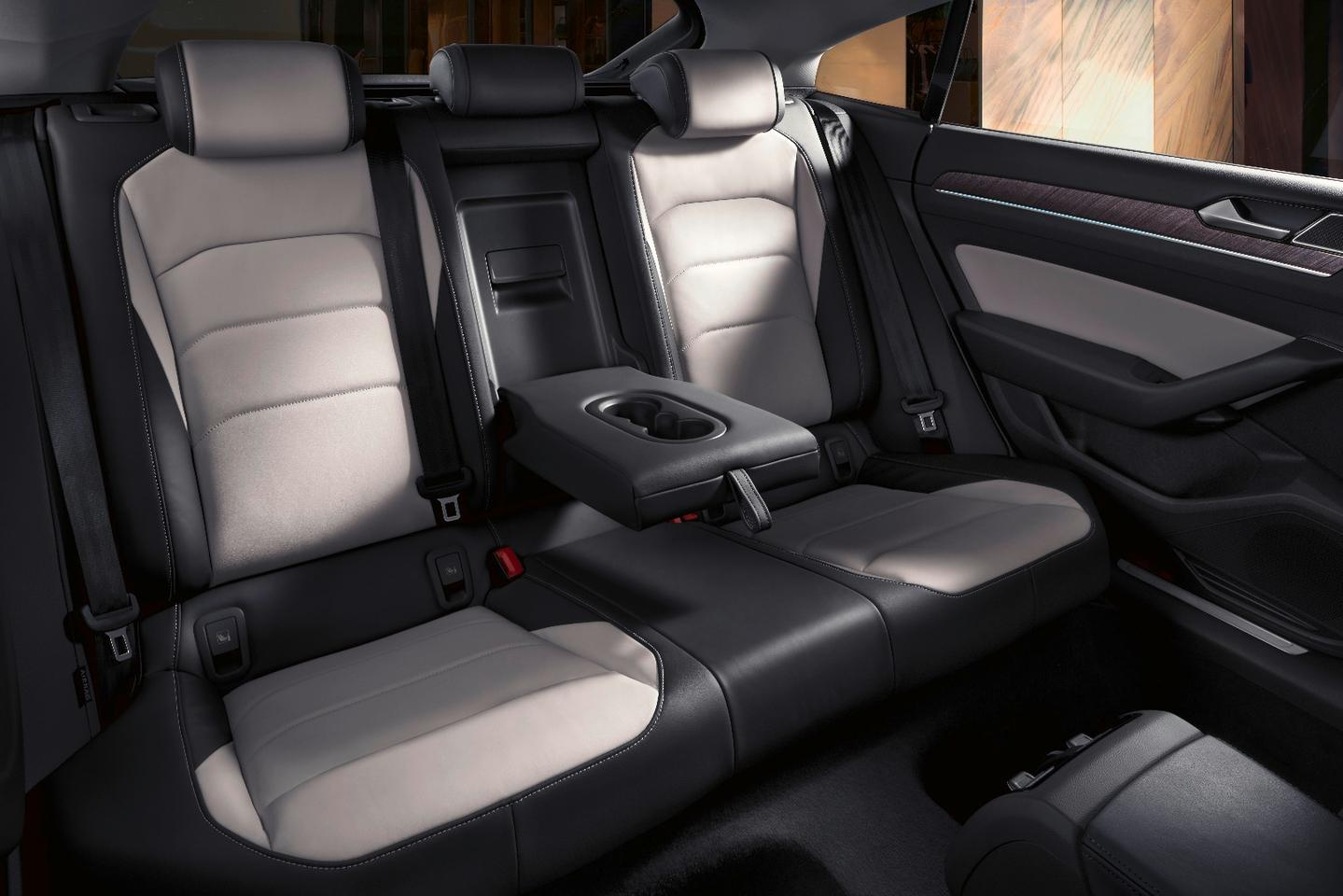 The back seats in the Volkswagen Arteon