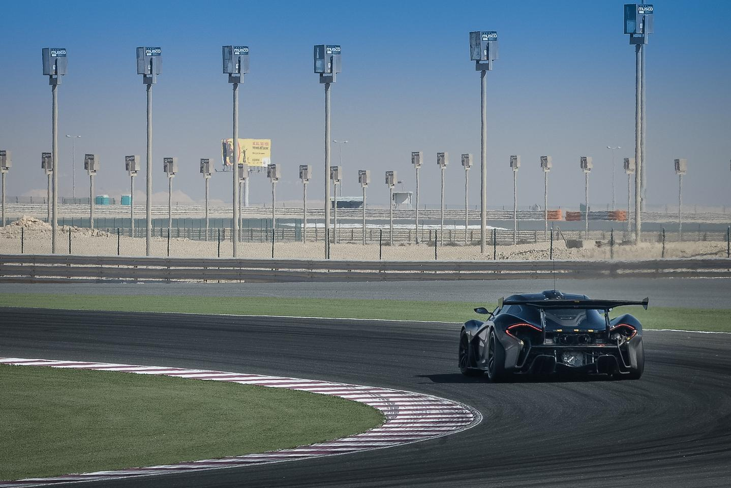 McLaren is in the process of finalizing the P1 GTR for production