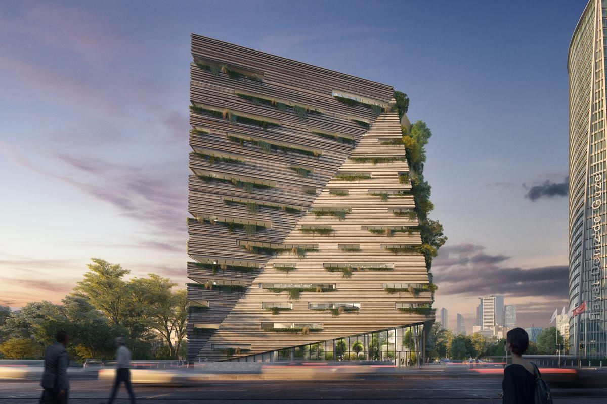 The Sanko Headquarters is due to be completed in 2023