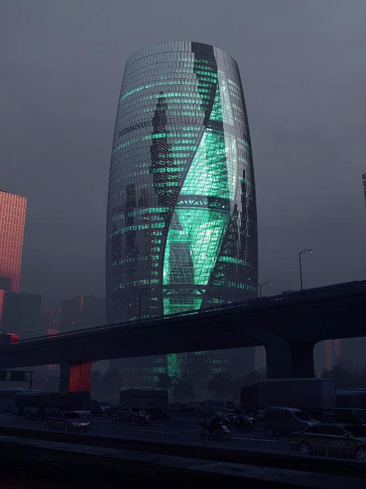 The Leeza Soho is one of the more restrained projects we've seen from ZHA in a while and looks like it'll be a stunner