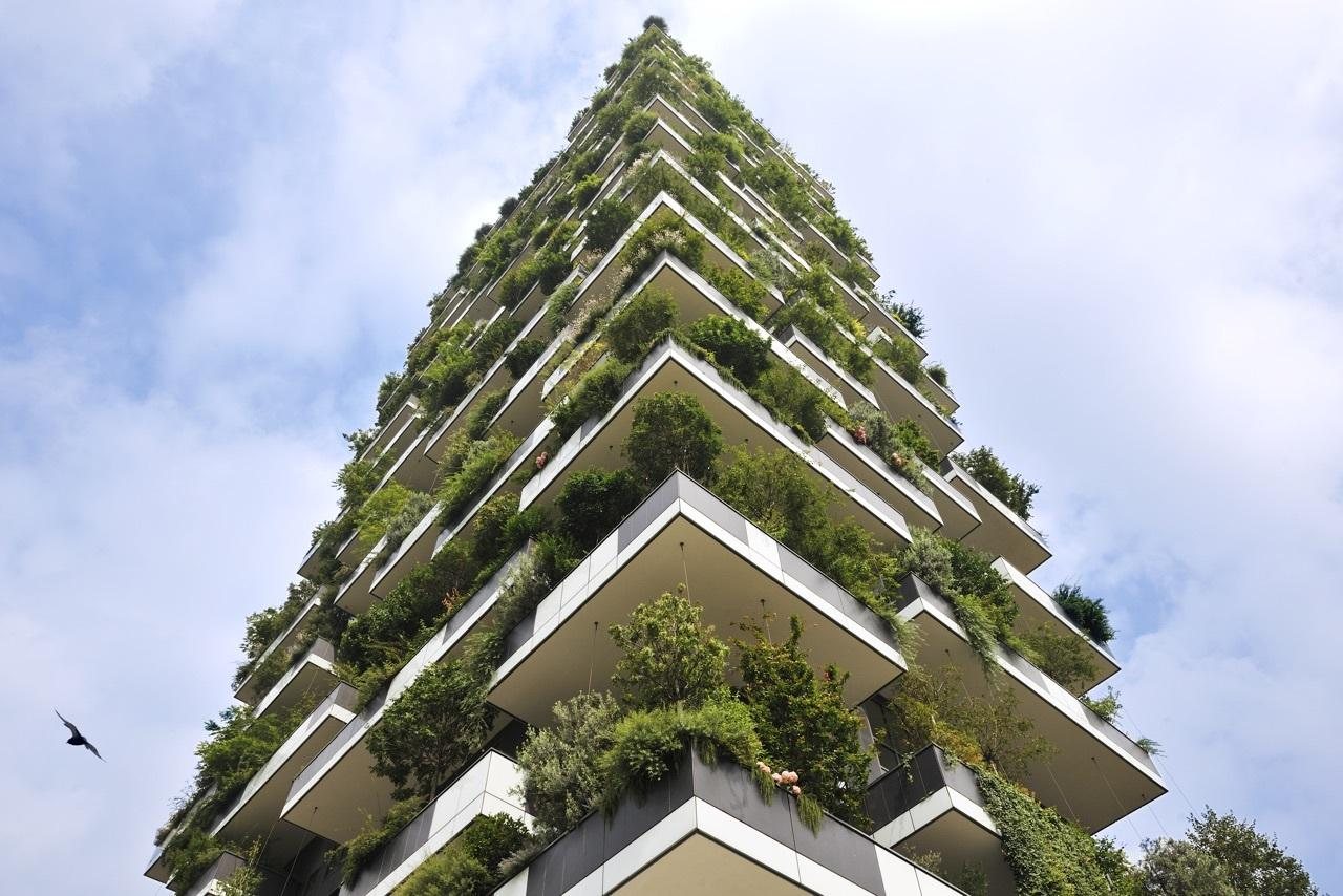 Milan's impressive Bosco Verticale (or Vertical Forest) residential project lives up to its name