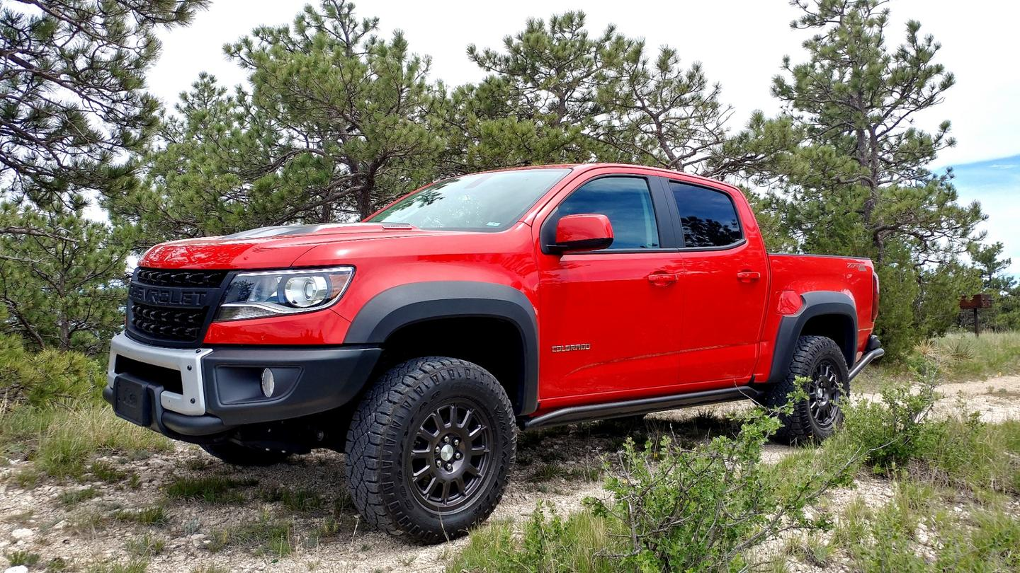Chevrolet concocts western buffalo imagery for the Colorado midsized pickup truck through a partnership with American Expedition Vehicles