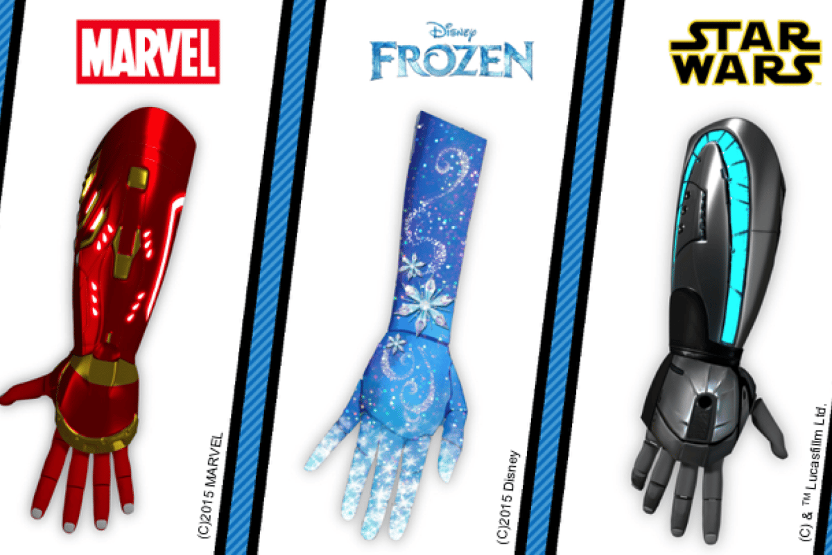 Open Bionics has create superhero-inspired prostheses for the smallest of users, designed to transform being different into a good thing