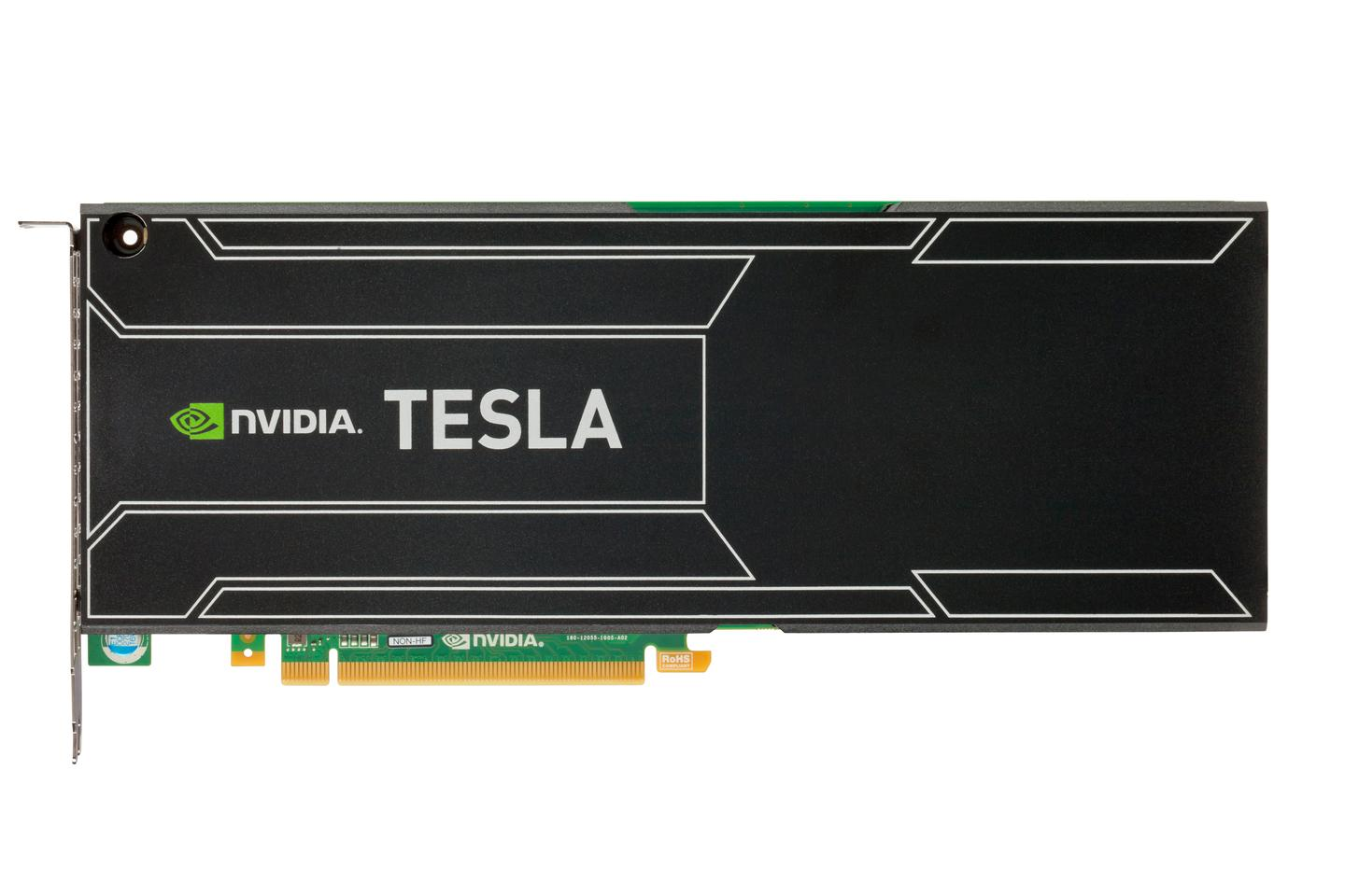 NIVIDA Tesla graphics processor unit