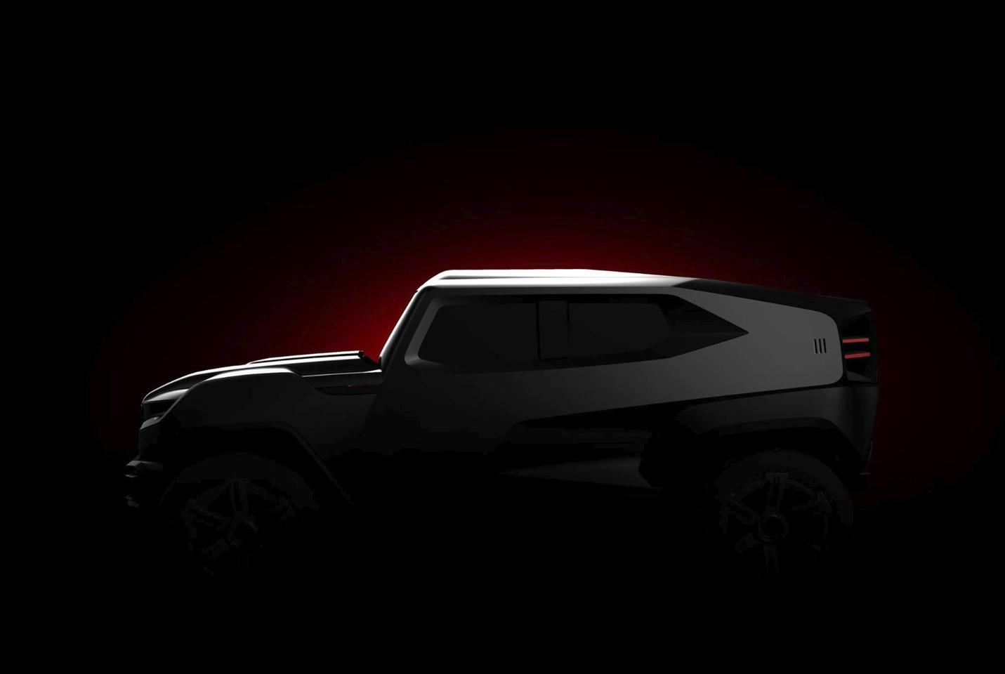 "Rezvani teases the ""toughest extreme utility vehicle on the planet"""