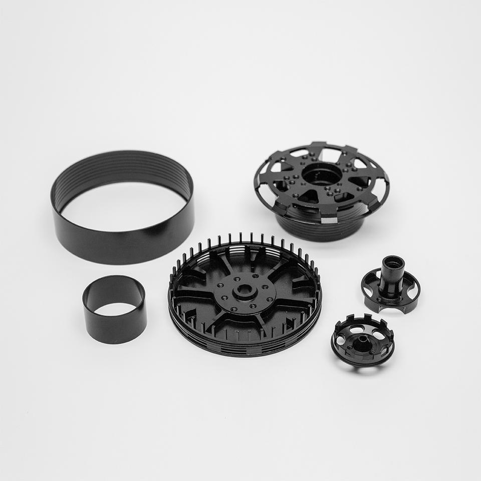 Lightweight drone parts made from Allite Super Magnesium