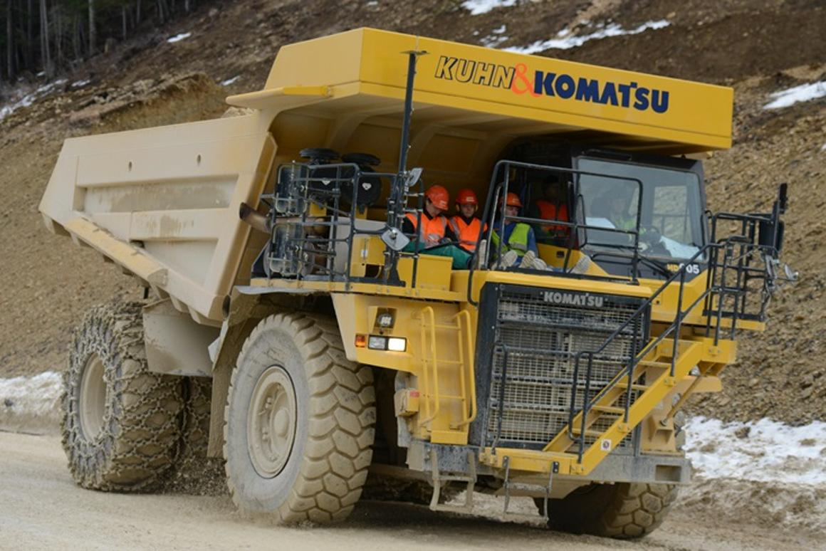45-ton dump truck to become the world's largest electric vehicle