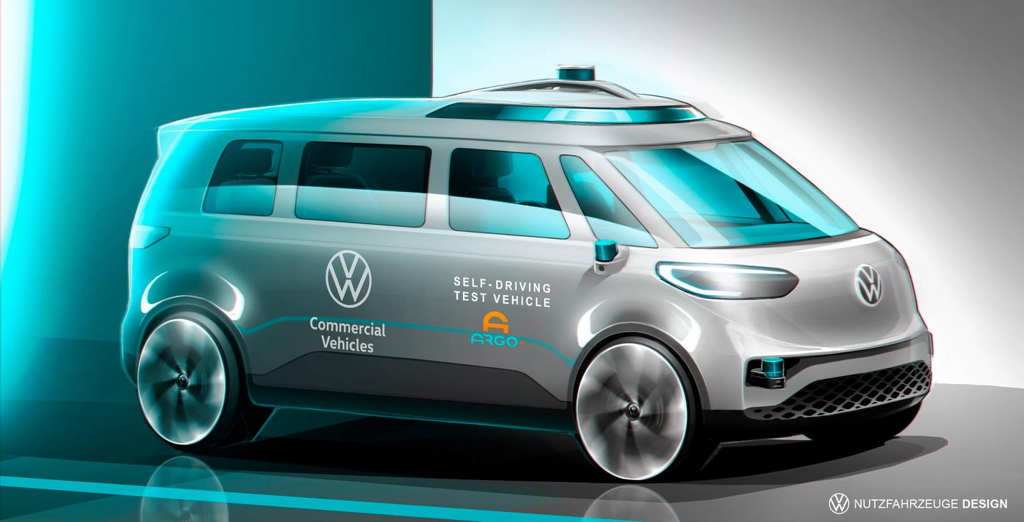 Argo AI-equipped Volkswagen ID. Buzz prototypes will be testing on German roads
