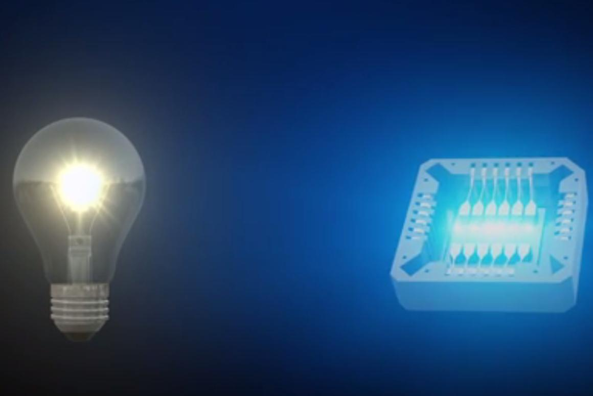 Researchers have created an on-chip incandescent light source using graphene, making it the world's thinnest light-bulb