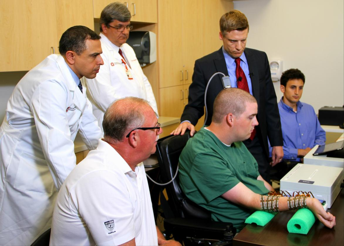 Wexner Medical Center and Batelle have worked together to develop Neurobridge technology