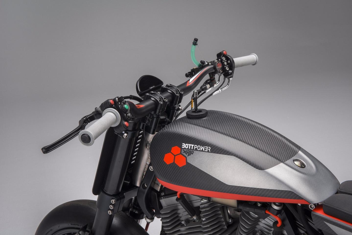 Bottpower's XR1R flat tracker puts the Buell XB12 on a