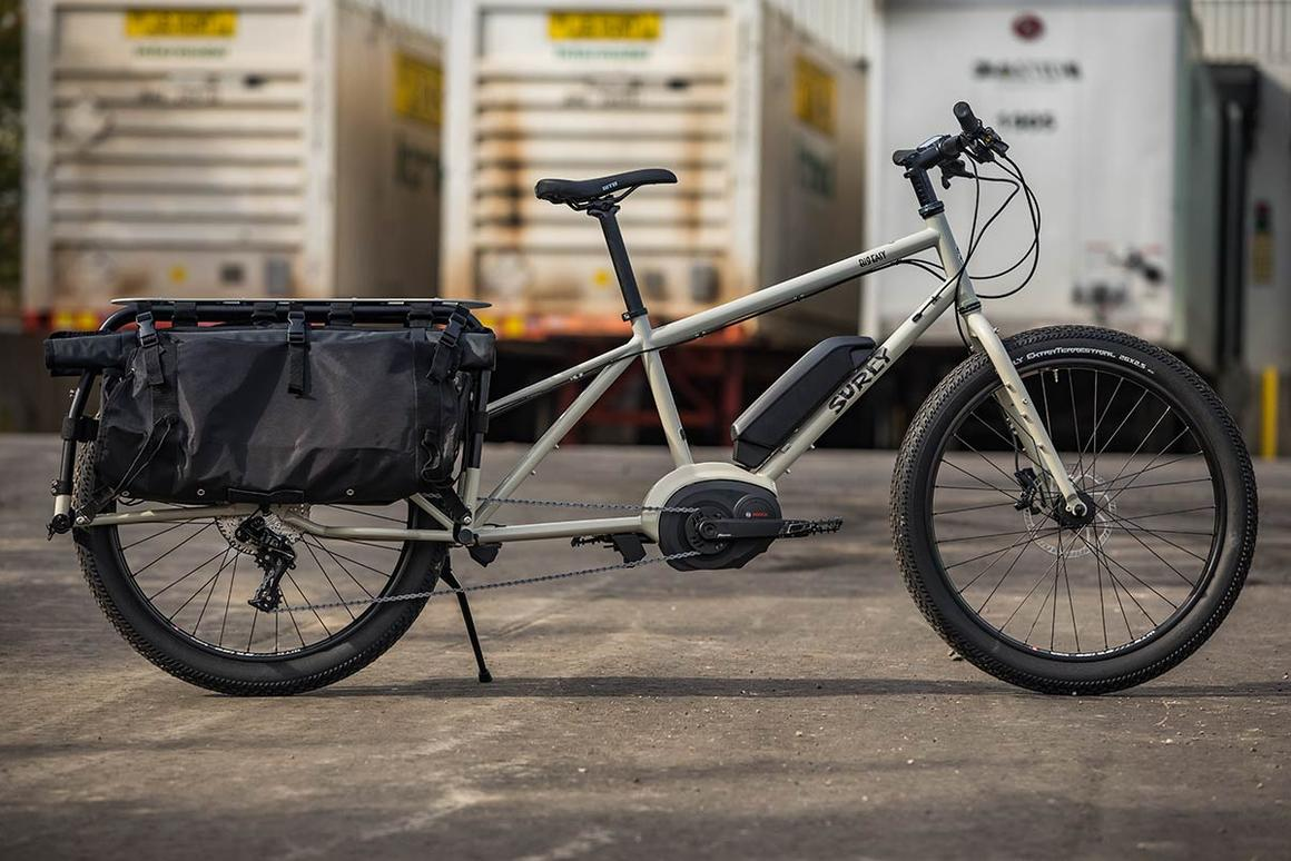 "The Big Easy is billed as the ""18-wheeler of the cargo bike world"""