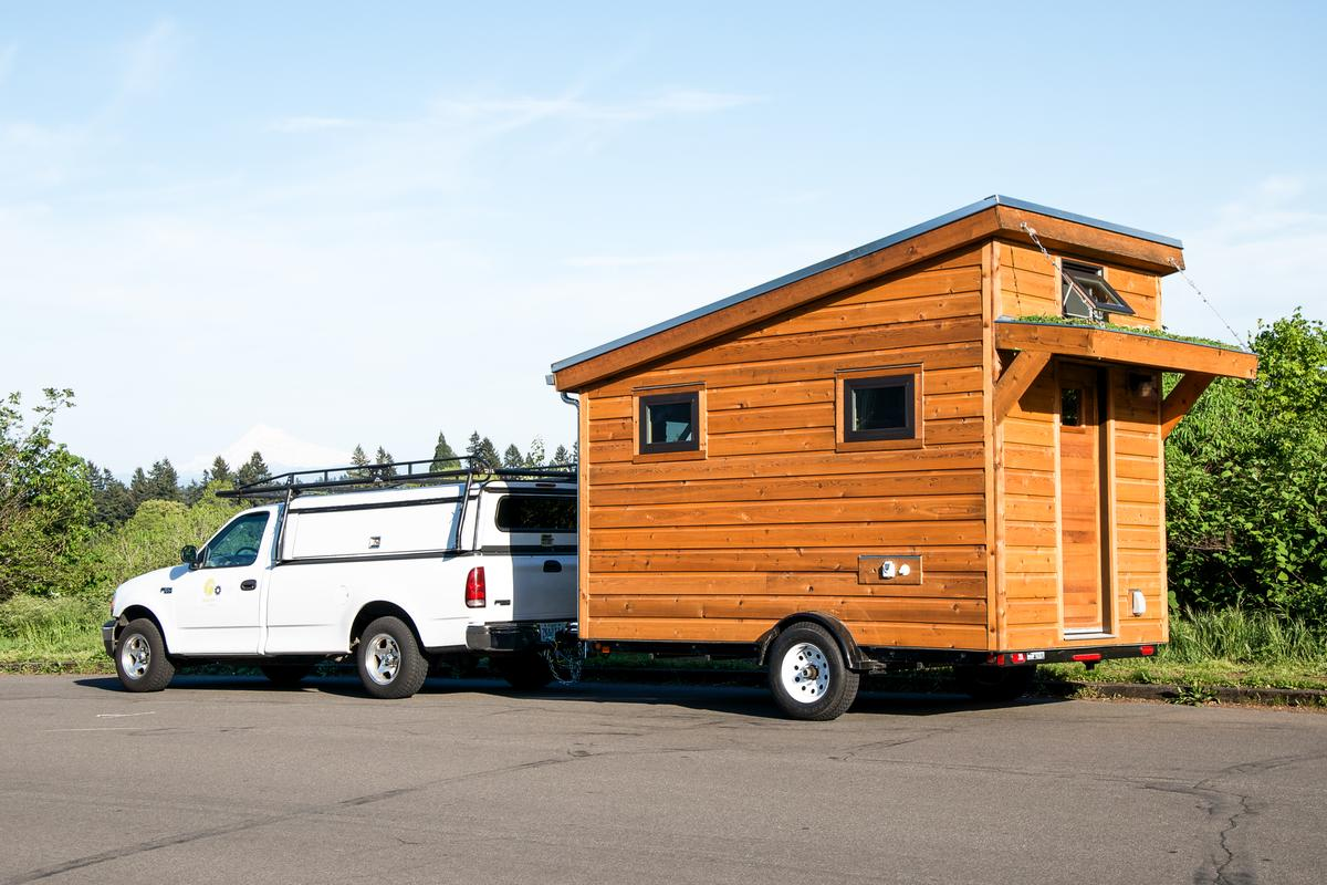 The Salsa Box tiny house, by Portland, Oregon-based Shelter Wise (Photo: Shelter Wise)