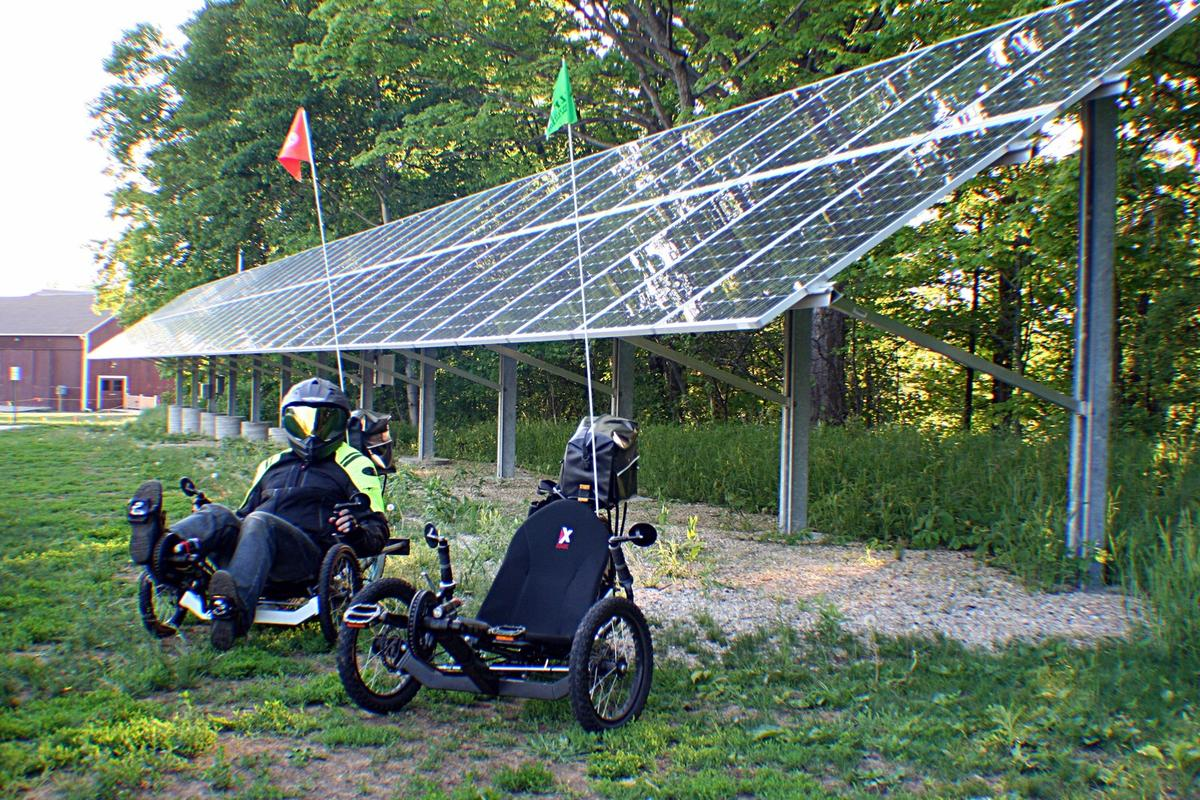 Odyssey Trikes have updated their Mark 5 Super so that it now achieves a claimed 300 miles (480 km) on a single charge while also boasting a top speed of 60 mph (96 km/h)
