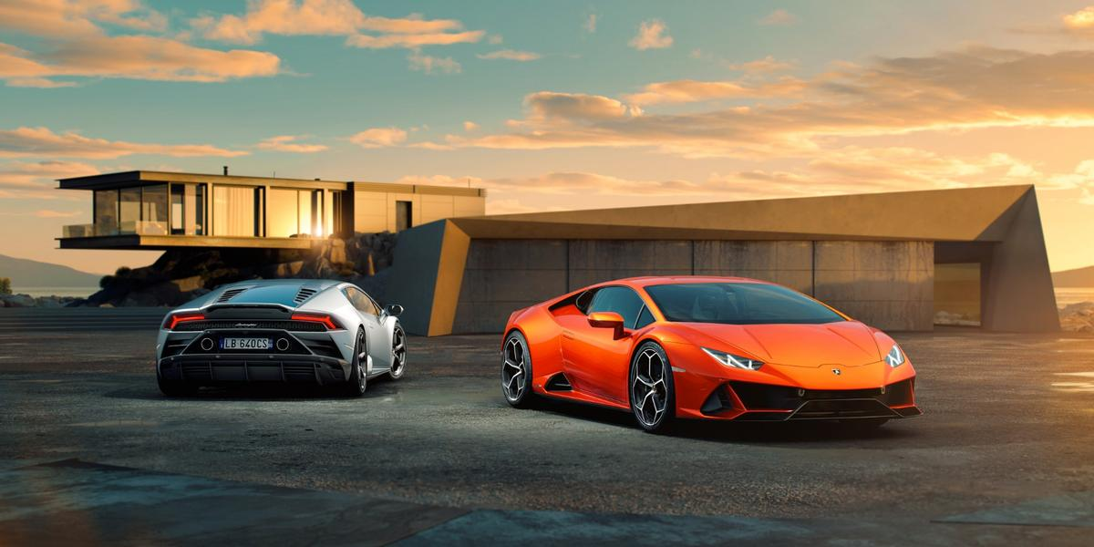 Key to the Huracan Evo's upgraded dynamics are changes to the rear-wheel steering system with improved torque vectoring