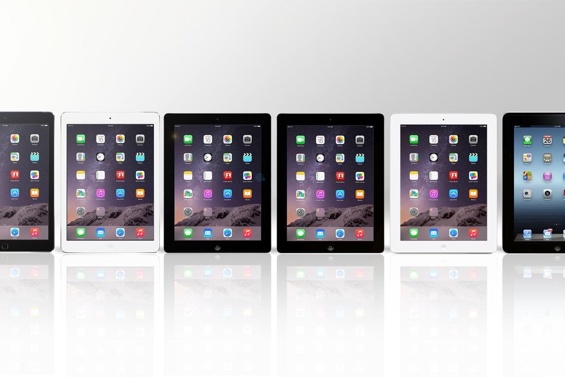 Gizmag compares every 9.7 iPad to date, including the 2014 iPad Air 2