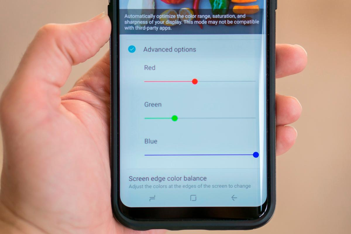Our guide takes you through the steps to  fix red tint manufacturing issues on the Galaxy S8 and S8 Plus – or to just get the white balance looking just right