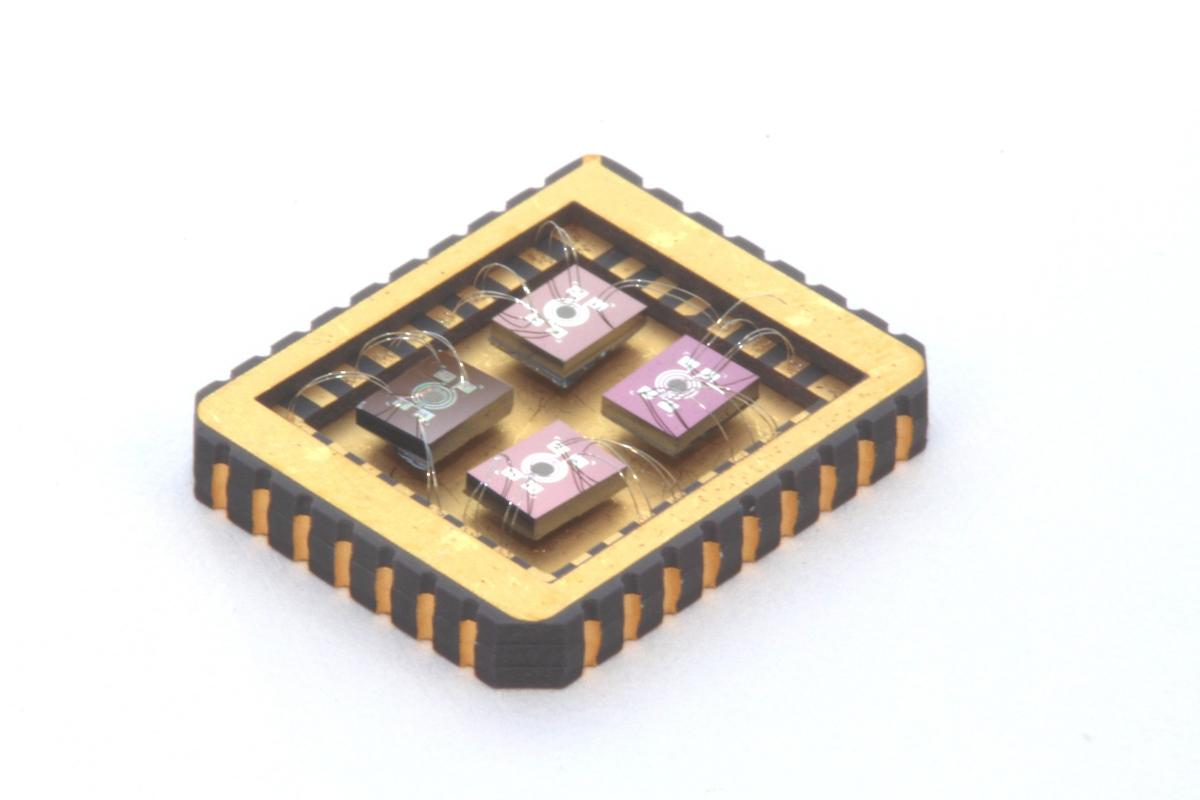 The prototype sensor array
